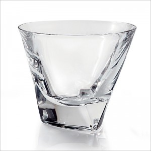 Bohemia Triangle Crystal Old Fashioned 32 cm