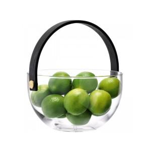 LSA international Disc Transparent Fruit Glass bowl - 21 cm