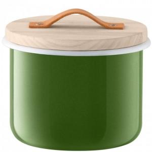 LSA UTILITY Container & Ash Lid 18 cm - Green Color