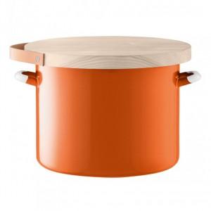 LSA UTILITY Bread Bin & Ash Board 31 cm - Orange Color