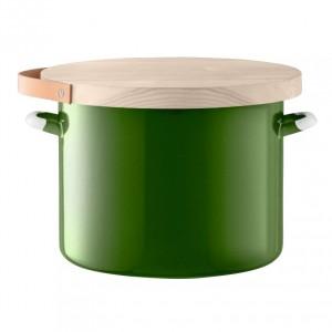 LSA UTILITY Bread Bin & Ash Board 31 cm - Green color