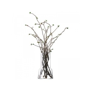 LSA CHIMNEY Vase H45cm Handmade Glass
