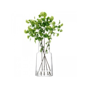 LSA CHIMNEY Vase H53cm Handmade Glass