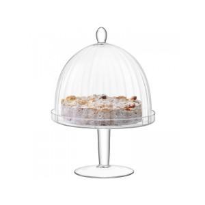 LSA AURELIA Dome & Stand dia:25cm Handmade Glass