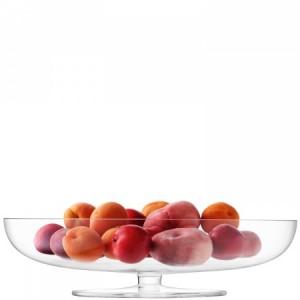 LSA OLIVIA Bowl 40cm Handmade Glass