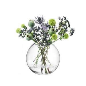 LSA GLOBE Vase H24cm Handmade Glass