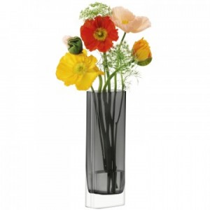 LSA MODULAR Vase 30 x 10 x 5cm Handmade Glass
