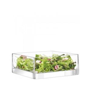 LSA MODULAR Container 25 x 25 x 10cm Handmade Glass
