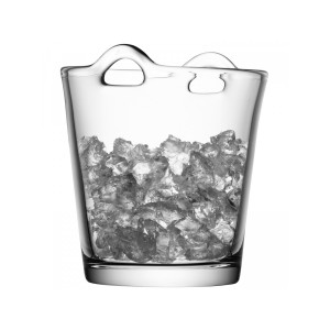 LSA BAR Ice Bucket H18.5cm Handmade Glass