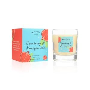 Wax Lyrical Candle - Cranberry & Pomegranate Wax Filled Box