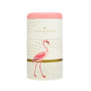 Wax Lyrical Candle Tins Fancy Flamingo Stacking