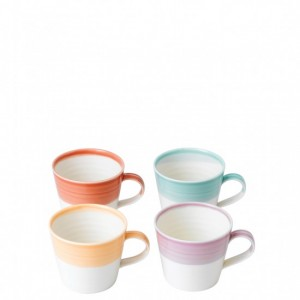 1815 Bright Colours Small Mug (Set of 4)