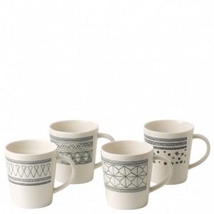 Charcoal Grey Mugs (Set of 4) – Ellen DeGeneres