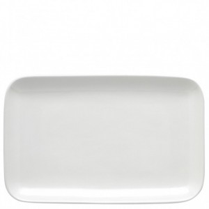 Olio White Serving Platter 38cm - Barber and Osgerby