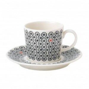 Charlene Mullen Foulard Star Espresso Cup and Saucer 0.80L