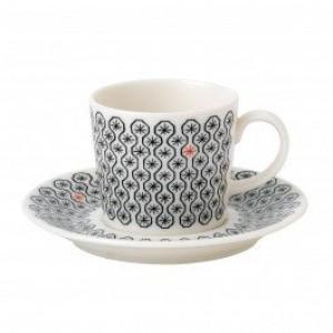 Charlene Mullen Foulard Star Espresso Cup and Saucer 0.80L