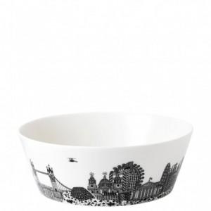 London Calling Large Serving Bowl 25cm - Charlene Mullen