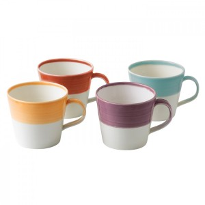1815 Bright Colors Mugs, Set of 4
