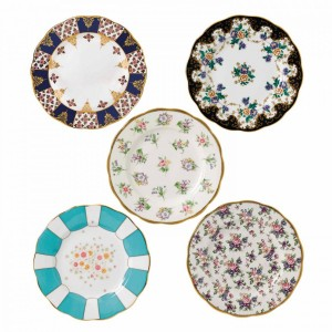 100 Years Of Royal Albert 5-Piece Plate Set (1900-1940)
