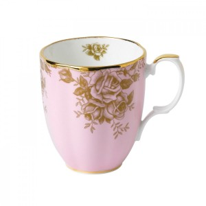 100 Years Of Royal Albert 1960 Golden Roses Mug