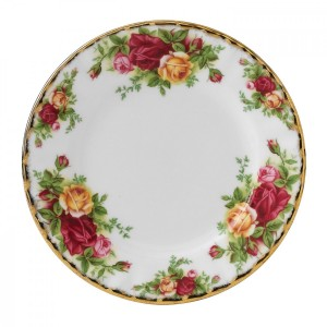 Old Country Roses Plate 16cm