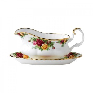 Old Country Roses Gravy Boat