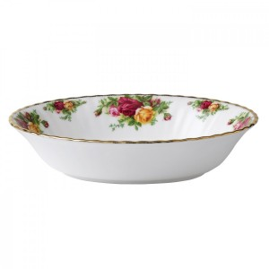 Old Country Roses Open Vegetable Dish 23cm