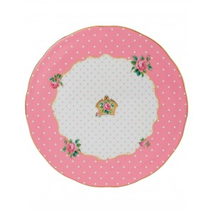Cheeky Pink Vintage Cake Plate 29cm