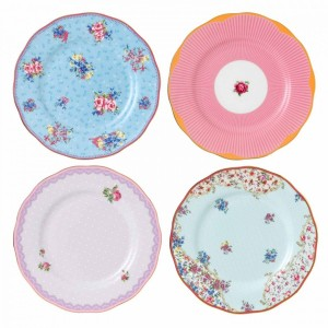 Candy Tea Plates 20cm (Set Of 4)
