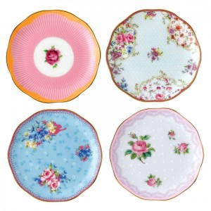 Candy Mini Plates 10cm (Set Of 4)