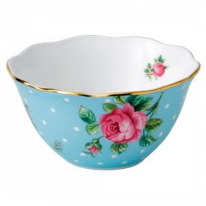 Polka Blue Bowl