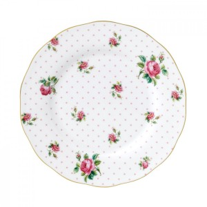 Cheeky Pink Vintage Plate 20cm