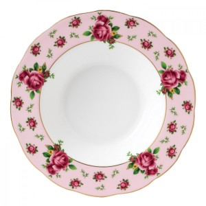 New Country Roses Pink Vintage Rim Soup 24cm