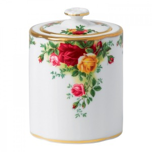 Old Country Roses Tea Caddy OCR