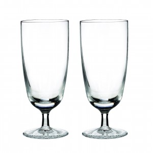 Waterford Crystal Clear Light Ftd. Bev Glass Pr 154048