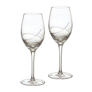 Waterford Crystal Ballet Ribbon Essence White Wine Pair