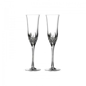 Lismore Essence Champagne Flute, Pair Set of 2