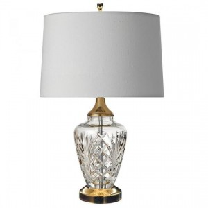 "Waterford Avery Accent Lamp 20.5"" Polished Brass 40006476"