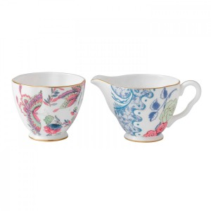 Wedgwood Butterfly Bloom Cream And Sugar