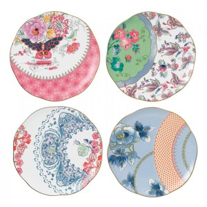 Wedgwood Butterfly Bloom Plate 20cm (Set Of 4)