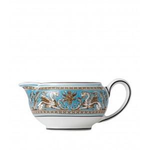 Wedgwood Florentine Turquoise Cream Jug (150ml)