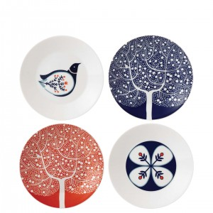 Fable Accent Plates 22cm Set of 4