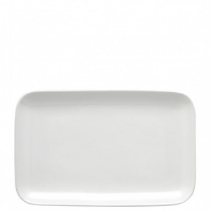 Olio White Serving Platter 27cm - Barber and Osgerby