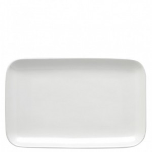 Olio White Serving Platter 33cm - Barber and Osgerby