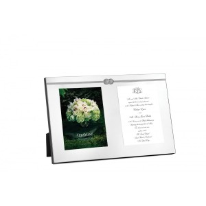 Wedgwood Vera Infinity A Double Invitation Frame