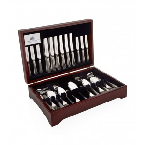 Arthur Price of England Royal Pearl Sovereign Stainless Steel Canteen - 46 Piece Cutlery Set