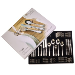 Arthur Price Bead 58 Piece Cutlery Set