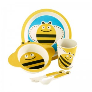 Arthur Price Bambino Bee 5 Piece Childrens Dining Set