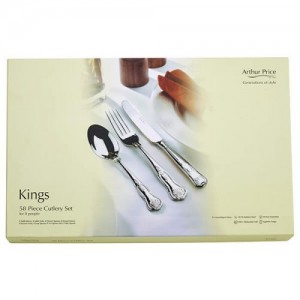 Arthur Price Everyday Classics Kings 58 Piece Cutlery Set