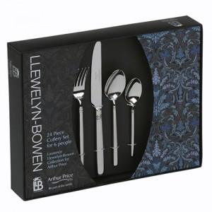 Arthur Price Llewleyn-Bowen Valentina 24 Piece Cutlery Box Set